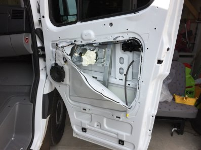 Crack the doors open for soundproofing
