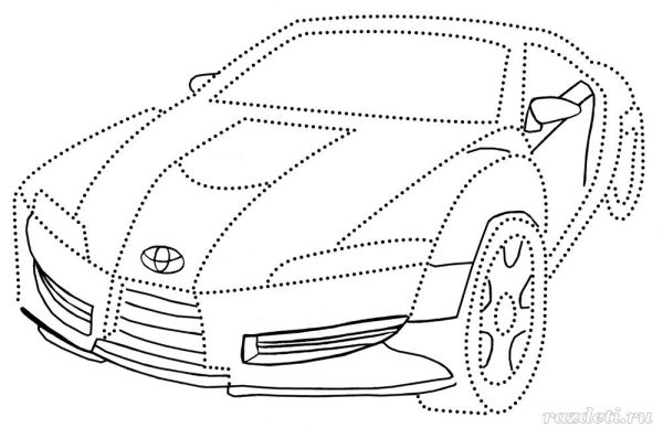 Раскраски для детей Автомобили. Распечатать бесплатно