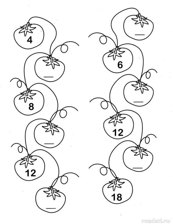 Математика для дошкольников в картинках