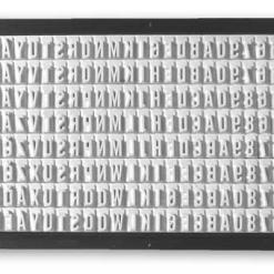 Trodat 6004 - sada znaků pro sestavovací razítko, 4mm