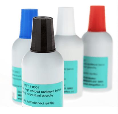 Rychleschnoucí razítková barva Noris 007