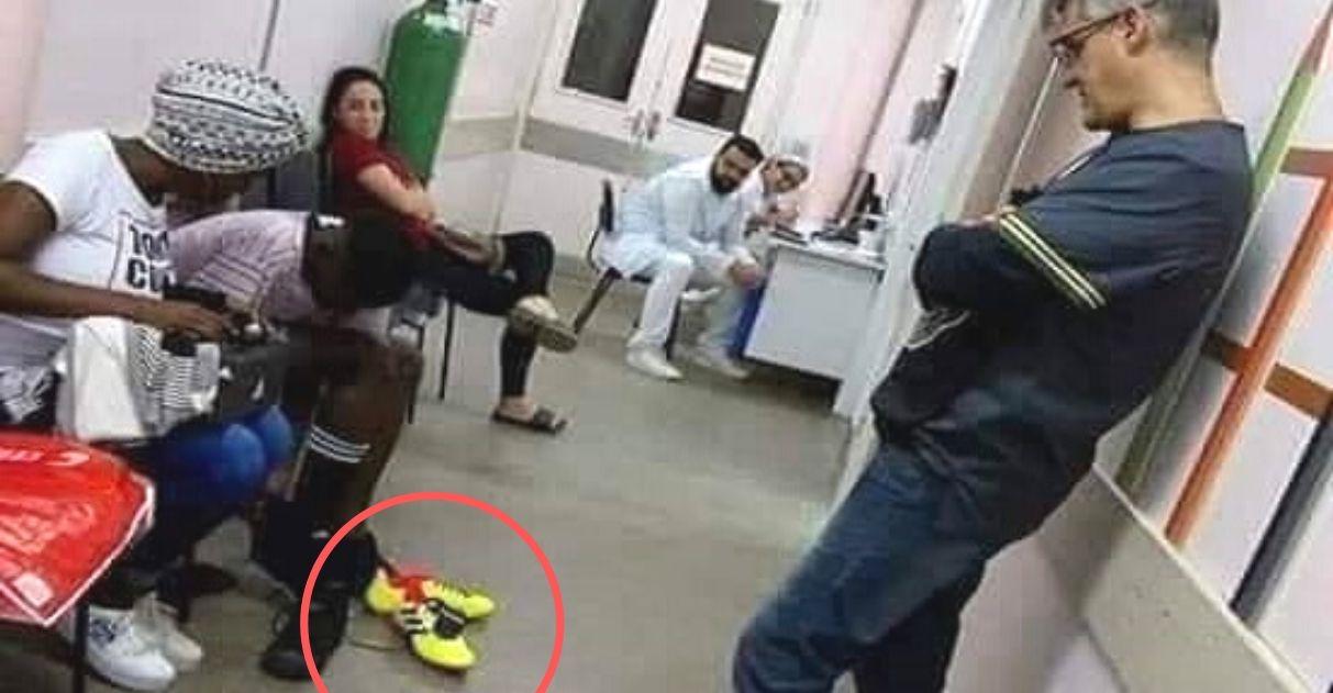 Médico compra chuteiras novas para menino que furou o pé com prego em SP