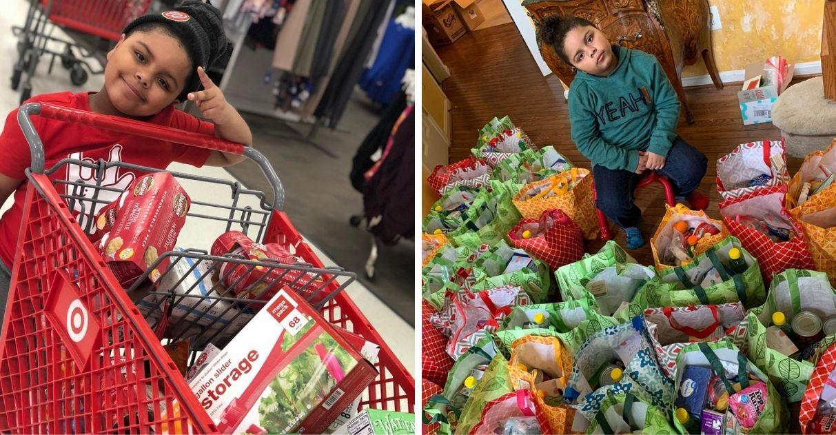 Coronavírus: Menino de 7 anos quebra seu cofrinho para comprar alimentos para idosos | Razões para Acreditar