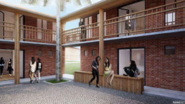 Projeto das instalações da Riverbend School