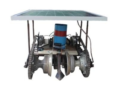 robô semeador