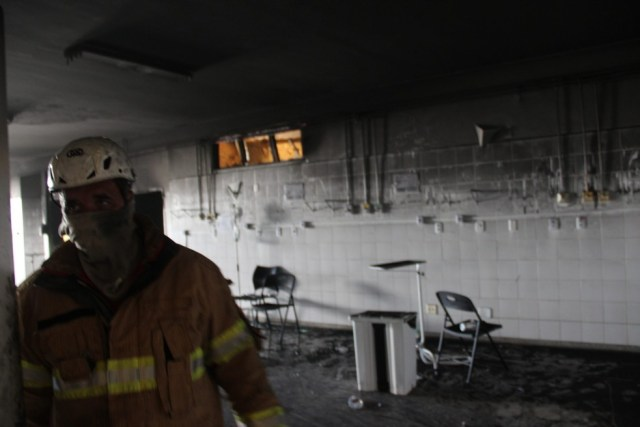 incêndio ala de Covid-19 do Hospital Municipal Doutor Nestor Piva, em Aracaju (SE)