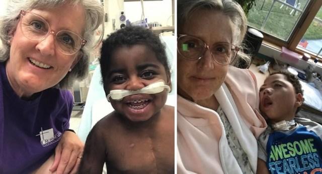 enfermeira adota crianças doenças terminais