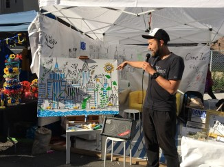Sashko Danylenko explains the motivations behind this NYC ant farm drawing