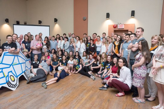 Over 140 people participated in the Razom Annual Meeting at the main hall of the Ukrainian National Home in New York City.