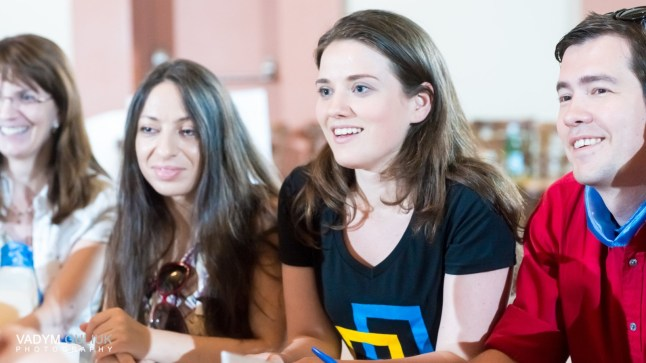 Yulia Marushevska participated in the Annual Meeting and gave