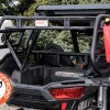 Rotopax water and fuel canisters on Sherpa Cargo Rack for Polaris RZR 1000 UTV and Side by Side