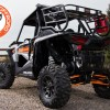 Powder Coat Black Sherpa Cargo Rack for Polaris RZR 1000