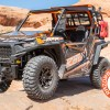Front Folding Glass Windshield and Cargo Rack Accessories for Polaris RZR 900