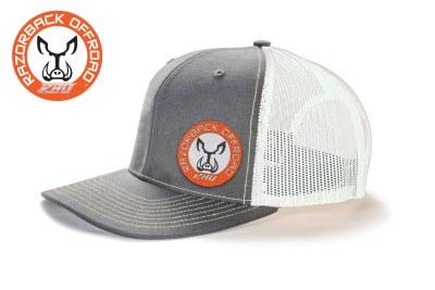 Razorback Offroad Merch Wear Hat Logo white