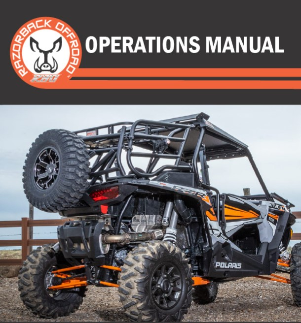 Operations Manual for RZR 1000 Sherpa Expedition Rack