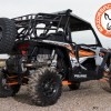 Spare Tire Mount on Polaris RZR 1000 Expedition Rack