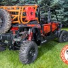 Rotopax and Spare Tire Rack for 4 Seater Polaris RZR 1000 Expedition