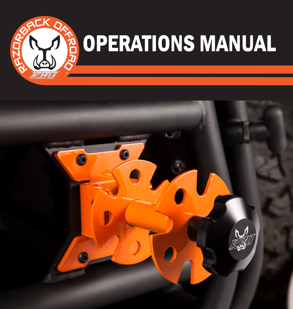 Operations manual for it fits Rotopax mount