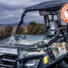 Front Folding Glass Windshield for the Polaris RZR 800 Camo