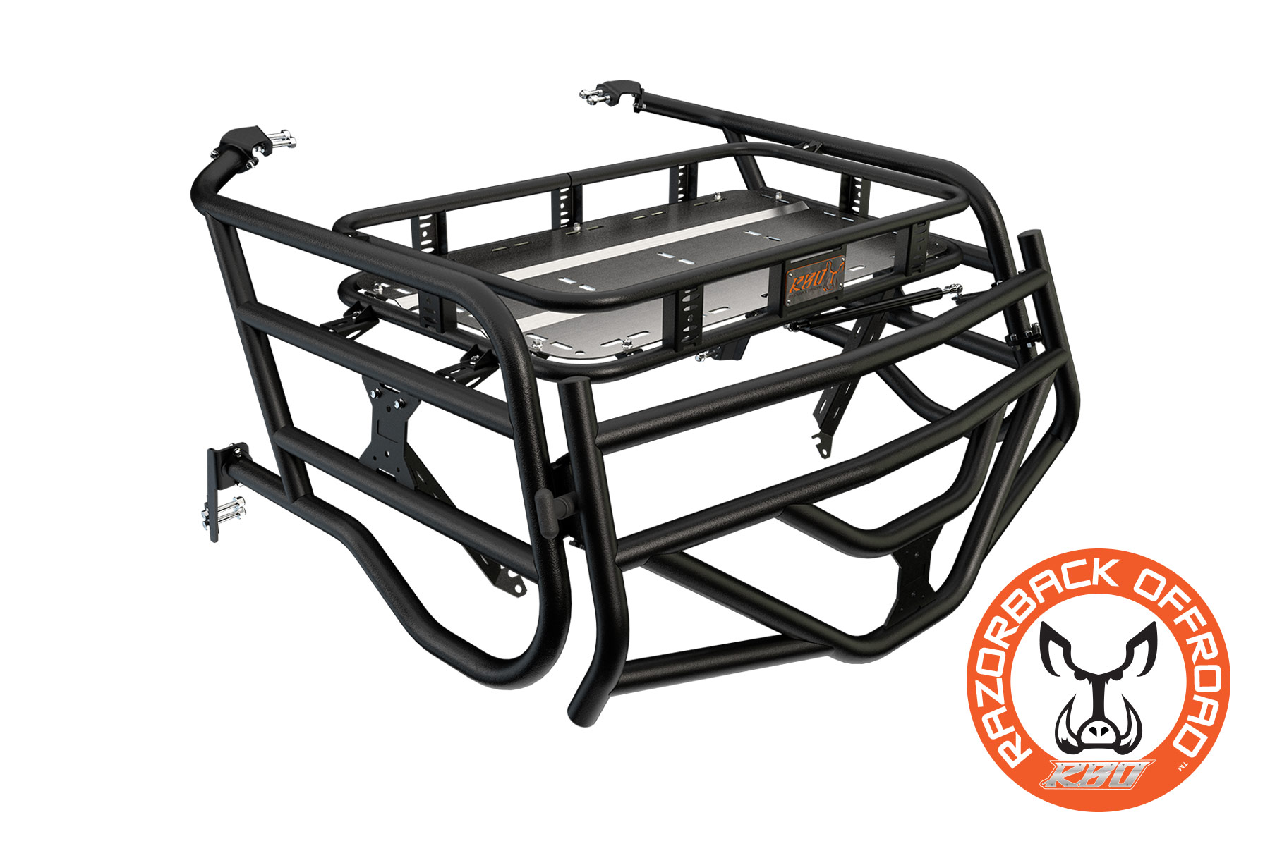 4 Four Seater Polaris Rzr Expedition Cargo Rack