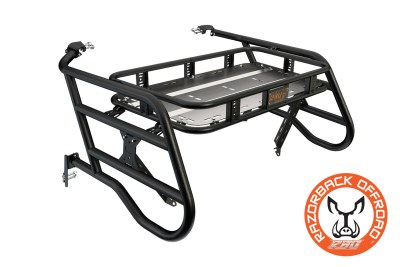 Polaris 1000 4-Seater Sherpa Cargo Rack Powdercoat-Black