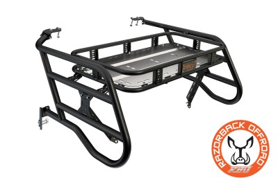 Polaris 1000 sherpa Cargo Rack Powdercoat-Black