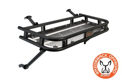 Polaris 900 Baja Cargo Rack Powdercoat-Black
