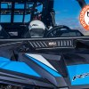Polaris RZR front folding windshield with built-in vents