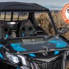 Front folding glass windshield for the Can-Am Maverick Trail and Sport