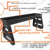 Polaris XP 1000 Ranger Rack How it works explanation graphic