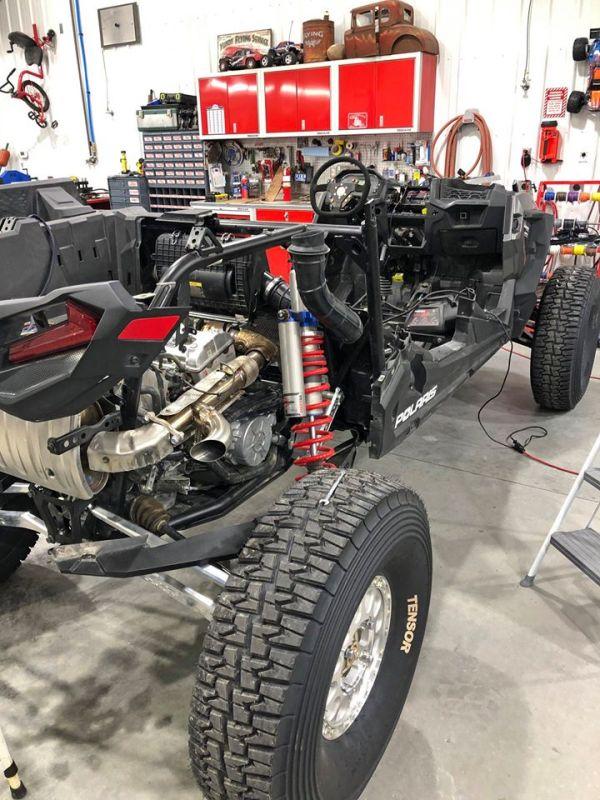 Teardown of Polaris RZR Turbo S Custom UTV SEMA Build