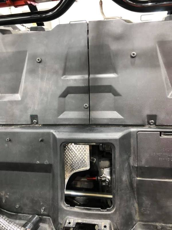 Thermal Paneling for Polaris RZR Turbo S Custom UTV SEMA Build