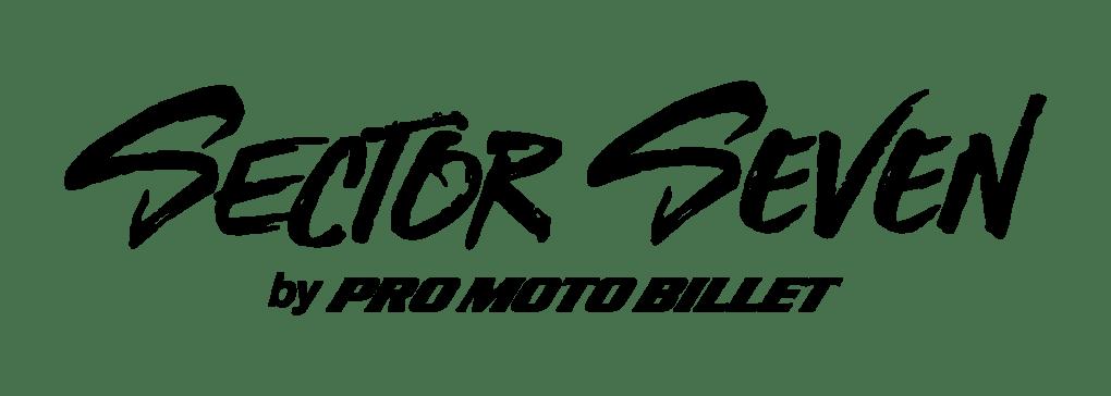 sector seven by pro moto billet logo