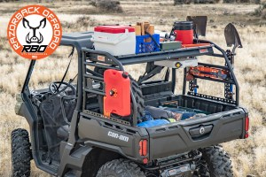 Razorback Offroad Can Am Defender Rack Storage Capacity