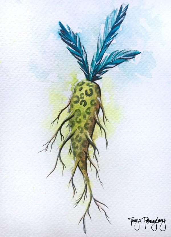 Carrot original painting