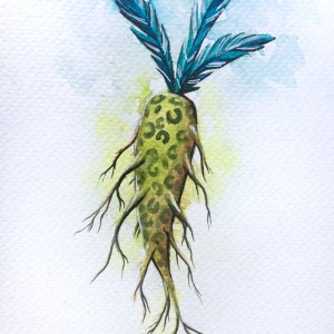 Carrot original painting