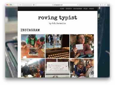 Roving Typist