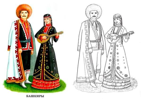 Картинки В Национальных Костюмах Народов России
