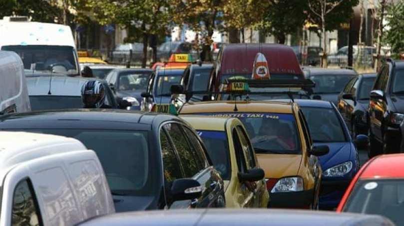 Trafic blocat Constanta