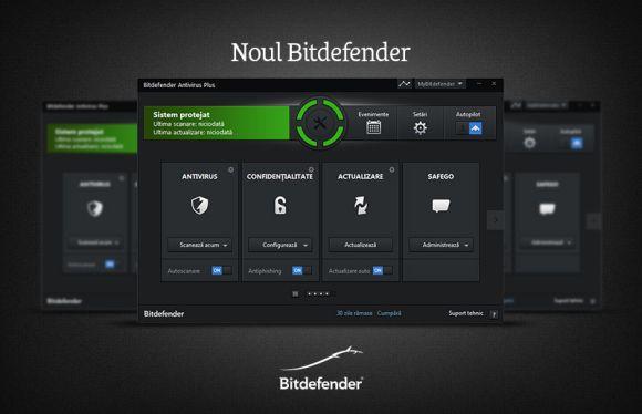 Bitdefender -Centrul de securitate