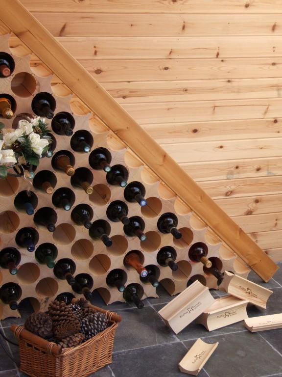 Raft lemn masiv modular 3