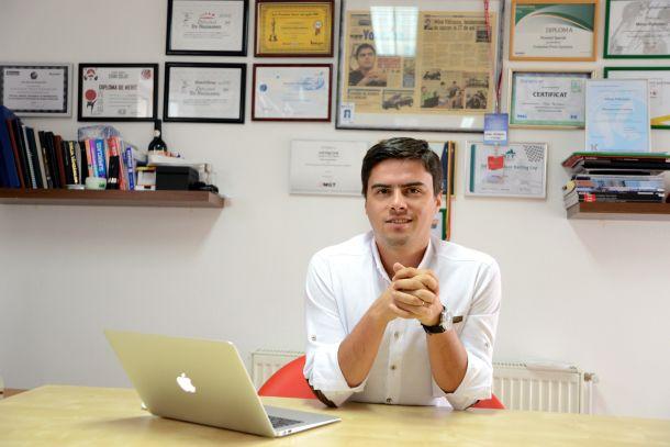 evomag CEO Mihai Patrascu