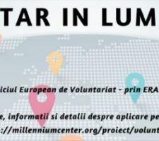 Voluntar in lume - voluntariat