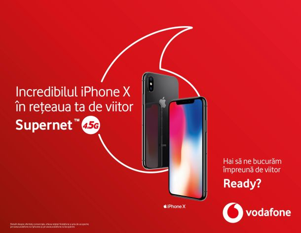 iPhone X Vodafone Orange