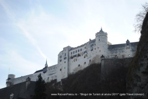 imagini fortareata Salzburg