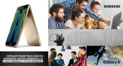 Samsung - voteaza proiectul social preferat