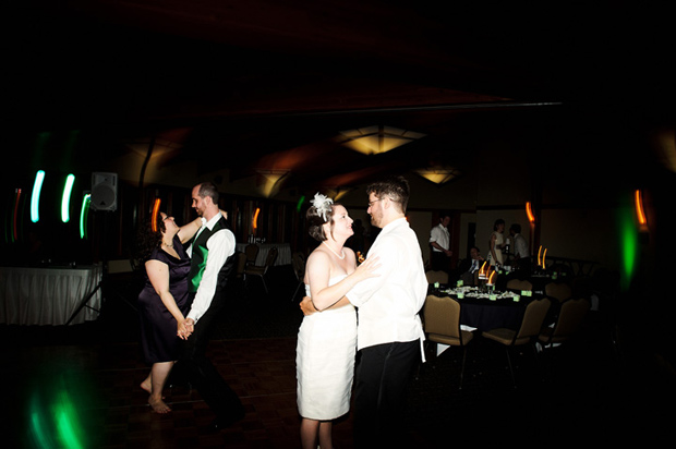wedding reception at brown deer country club