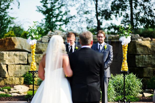Bella Sala wedding ceremony