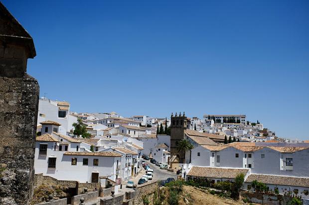 White houses in Ronda