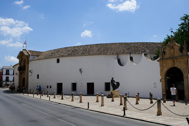 Plaza de toros de Ronda -  one of the oldest operational bullfighting ring in Spain